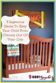 3 diy s to prevent your child from climbing out of their crib giddy upcycled