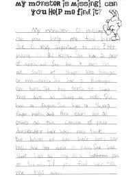 monster descriptive writing activity then have students draw a  monster descriptive writing activity then have students draw a picture others students have to the monster this child was writing about using the
