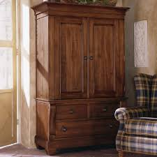 Large Cabinet With Doors Kincaid Furniture Tuscano Two Door Armoire With 3 Drawers
