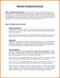 Resume Resume Opening Statement Examples Healthcare