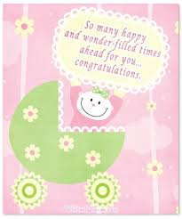 Welcoming Baby Girl Baby Girl Congratulation Messages With Adorable Images