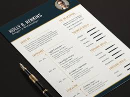 The Elite Resume CV Set Full Print Template