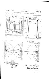 Swing Hinges Patent Us2685102 Gravity Closing Two Way Swinging Door Hinge
