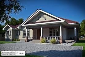 3 Bedroom House Plan   ID 13401
