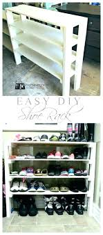 shoe rack for small entryway storage solutions closet ideas shoes organizer shelves sto closet shoe