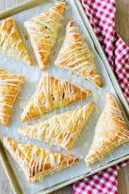 easy apple turnovers video