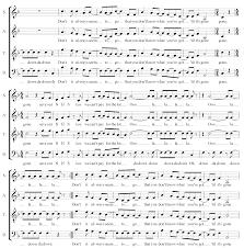 Sea Green Singers - Repertoire