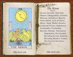 This is a card of transition, for every morning, the moon must give way to the sun. The Fool In 2021 The Moon Tarot Card Tarot Card Meanings The Moon Tarot
