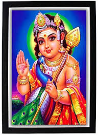 Vibes The Hd Amazon Enterprise Ganesh Photo amp; War Cm in wood Victory Digital 5x1x32 Gifting 5 God Solutions Print Shree Positive Frame Black And Home Poster Gods Murugan 22 Kitchen Commander Of