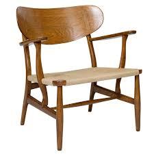 lounge chairs hans wegner. Hans Wegner CH-22 Lounge Chair Chairs O
