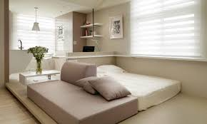 Small Sofa For Bedroom Decor Studio Apartment Furniture Ideas Simple False Ceiling