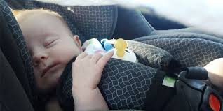 leaving babies in car seats for too