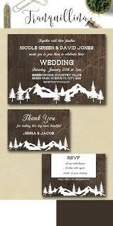 Rustic Winter Wedding Invitations Christmas Wedding Invitation Templates Winter Wedding Invitation