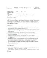 casino manager resumes production manager job on template plant b sample resume co