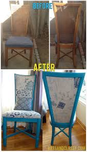 before and after diy reupholstering furniture ideas 23