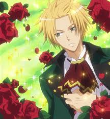 flower kaichou wa maid sama smile tai usui blonde hair