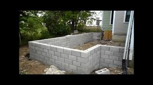 Ann Arbor Bonus Room Addition- Foundation Walls - YouTube