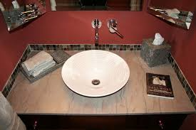 tiling ideas bathroom top: tile st louis mosaic tile insert over marble vanity top bathroom