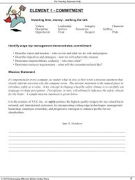 sample safety plan writing effective safety plan