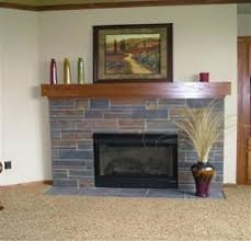 Family Room And Master Suite Fireplace Options  Lincoln Park Slate Fireplace