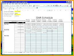 work schedule creator excel employee schedule schedule maker excel work schedule maker