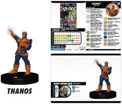Amazon.com: Marvel HeroClix Thanos and ...
