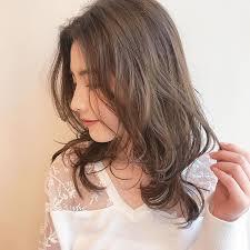 丸顔に似合うパーマの髪型14選前髪はボブミディアムロング黒髪