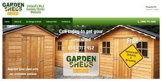 ireland wooden garden sheds dublin