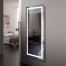 Full Size Mirror With Lights Amazon Com Bhbl Lighted Bathroom Vanity Mirrors Wall
