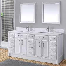 Lovable Double Vanity Bathroom Cabinets And Best 25 Double Sink 5 Foot Double Sink Vanity