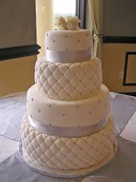 Best 25+ Quilted wedding cakes ideas on Pinterest | Diamond ... & White Chocolate Fondant Quilted Wedding Cake Quilted PERFECTION! Adamdwight.com