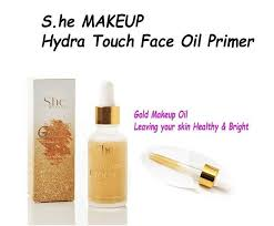 s he makeup gold face primer oil for healthy bright skin makeup new 612046719916 ebay