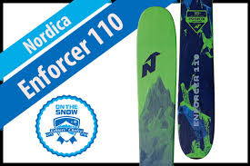 Nordica Enforcer 110 Size Chart Nordica Enforcer 110 Mens 17 18 Big Mountain Editors