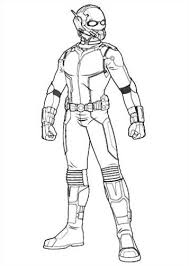 Kids N Funcom 18 Coloring Pages Of Ant Man