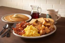 Image result for waffles and pancakes and bacon and eggs