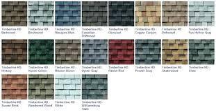 Gaf Timberline Hd Color Chart Gaf Timberline Hd Shingles Onweekend Co