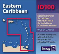 Imray Charts Caribbean Imray Id Chart Digital Eastern Caribbean Id100