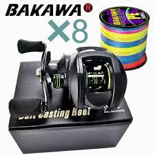 JITAI <b>Baitcasting</b> Reel Dual Brake System <b>10Kg</b> Carbon Fiber <b>Drag</b> ...
