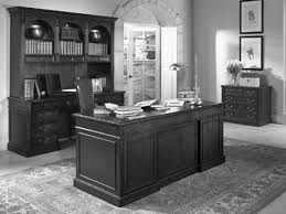 decorating home office. Interesting Small Vintage Home Office Using Den Decorating Ideas Themes Added Custom Espresso Desk Also Carpenter Made Open Cabinetry Shelving Feat A
