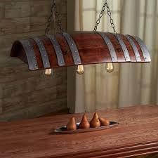 wine barrel lighting. Wine Barrel Chandelier Lighting