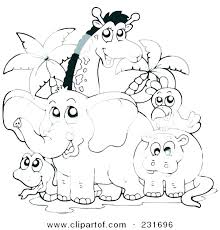 Coloring Pages Of Baby Zoo Animals Zoo Animal Coloring Pages Hard