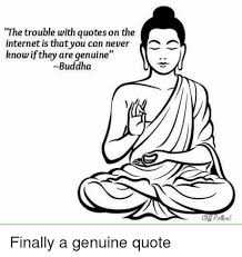 Internet Quotes Inspiration The Trouble With Quotes On The Internet Is That You Can Never Know