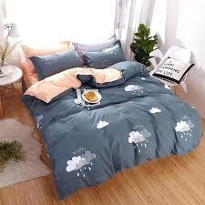 dark gray duvet cover ab side polyester raining clouds bedding sets dark gray duvet cover set dark gray duvet cover