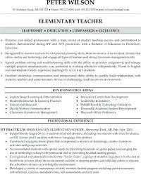 Cv Primary School Teacher Primary Teacher Resume Examples Primary School Teacher Resume Sample