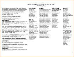 Prayer List Template   Beautyandhealthcare.net