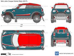 Rally Templates Templates Cars Mini Mini John Cooper Works Rally