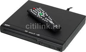 Купить <b>DVD</b>-<b>плеер BBK DVP030S</b>, черный в интернет-магазине ...