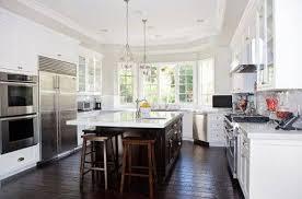 dark hardwood floors kitchen white cabinets. Kitchen White Cabinets Dark Wood Floors Photo - 1 Hardwood W