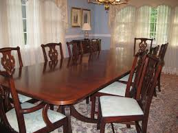 Henkel Harris Dining Table Henkel Harris Dining Table W Two Leaves And 10 Chairs Photo By