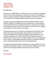 flight attendant cover letters flight attendant cover letter sample letters email examples